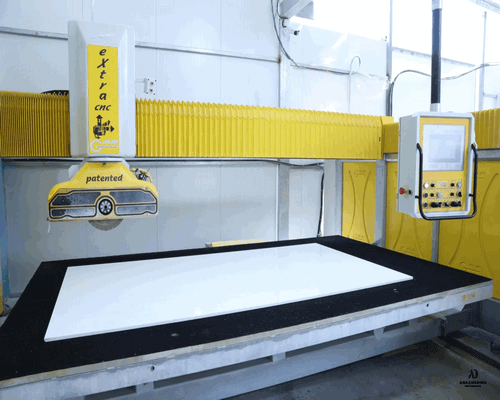 מכונת CNC - שיש רבינסקי