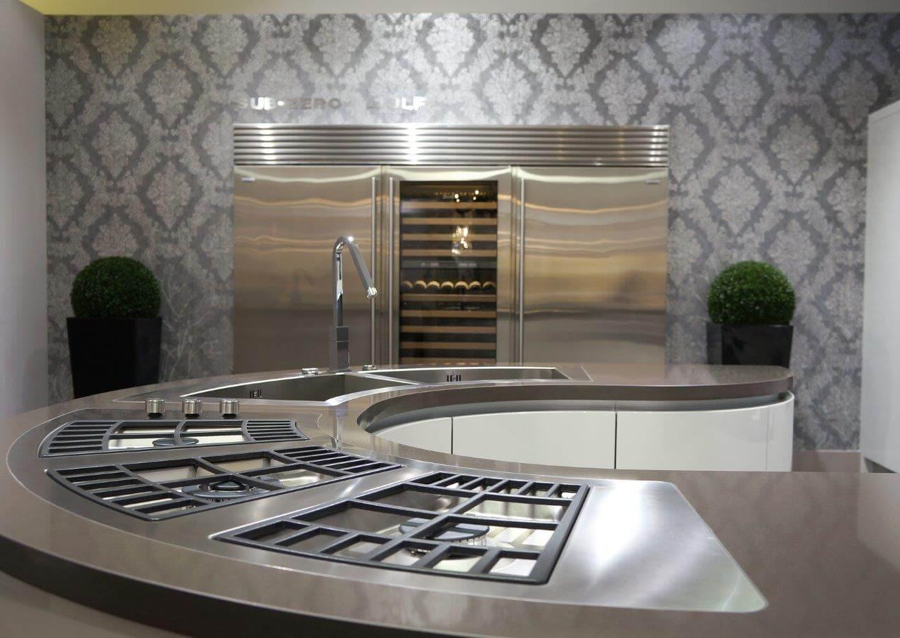 משטח קוורץ למטבח דגם kspace