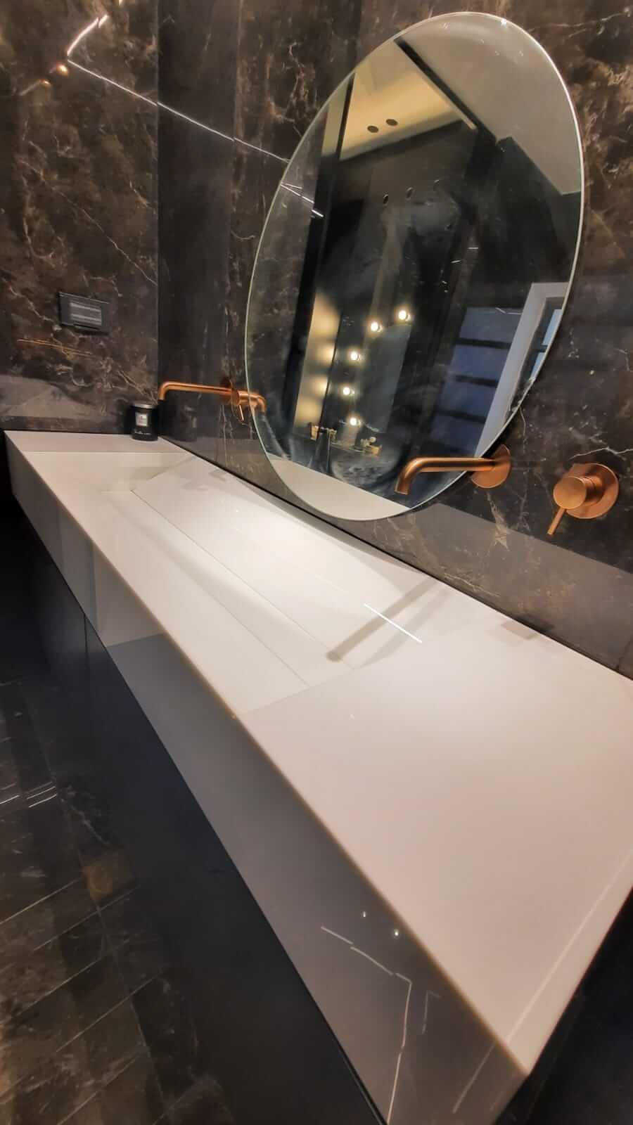 כיור שוקת זכוכית מורנו – קרית גת