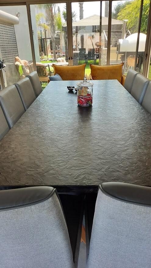 שולחן שיש אוכל גרניט פורצלן